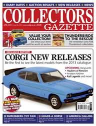 Collectors Gazette issue April 2013