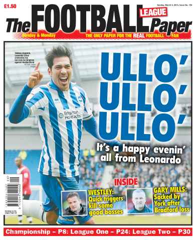 The Football League Paper issue 4th March 2013