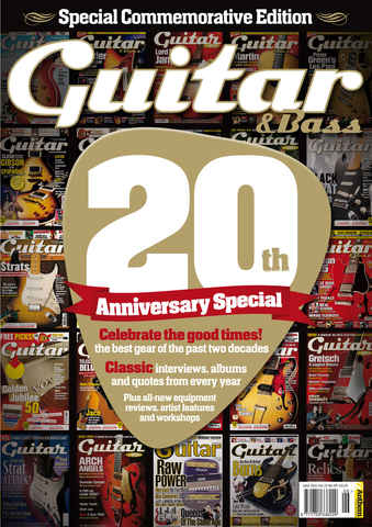 Guitar & Bass Magazine issue June 11 20th Anniversary Special