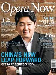 Opera Now issue April 2013
