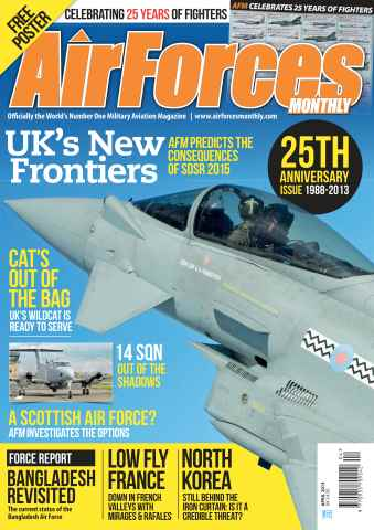 AirForces Monthly issue April 2013