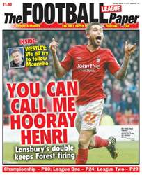 The Football League Paper issue 10th March 2013