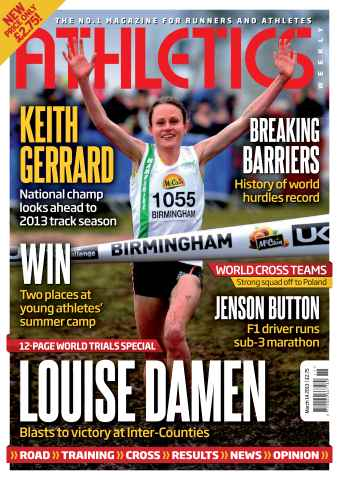Athletics Weekly issue AW March 14 2013