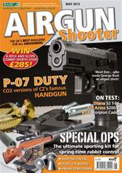 Airgun Shooter issue May 2013