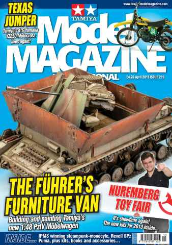 Tamiya Model Magazine issue 210