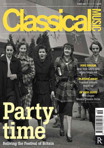 Classical Music issue 7th May 2011