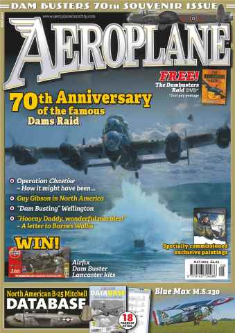 Aeroplane issue No.481 Dam Raid 70th Anniversary
