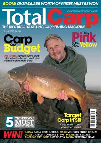 Total Carp issue April 2013
