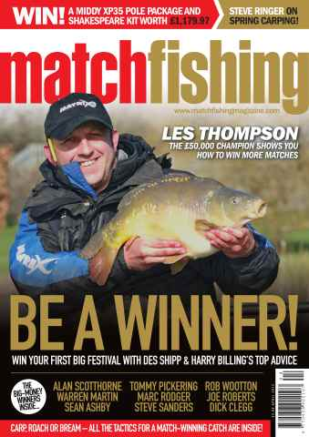 Match Fishing issue April 13