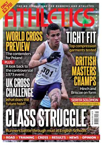 Athletics Weekly issue AW March 21 2013