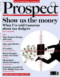 Prospect Magazine issue 205 - April 2013