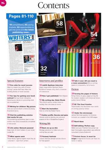 Writing Magazine Preview 4