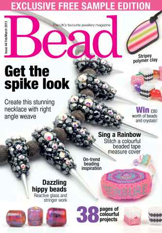 Bead Magazine issue Bead Free Sample Issue