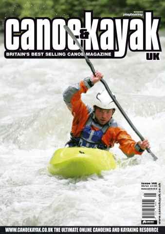 Canoe & Kayak UK issue Whitewater Kayaking