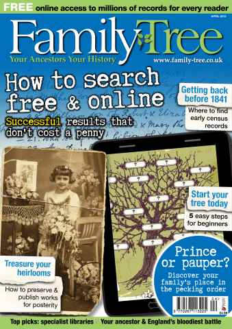 Family Tree issue Free Sample