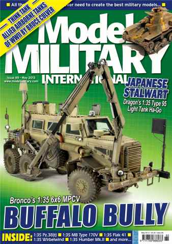 Model Military International issue 85