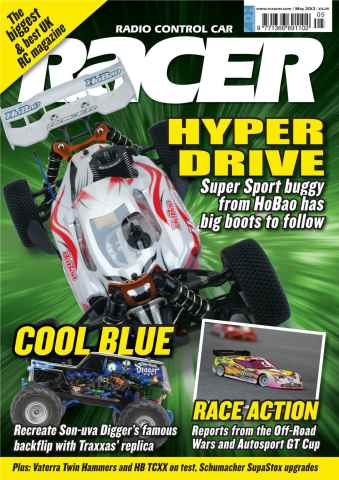 Radio Control Car Racer issue May 2013