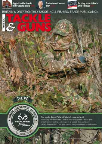 Tackle & Guns issue T&G April 2013