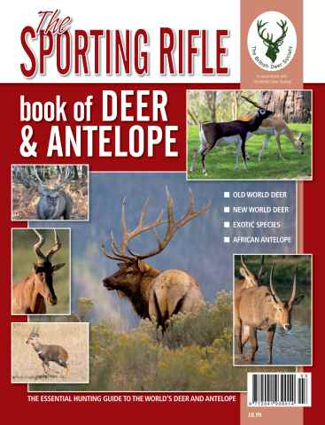 Sporting Rifle issue SR Book of Deer and Antelope