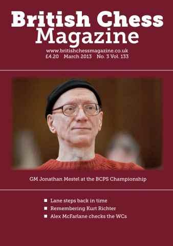 British Chess Magazine issue March 2013