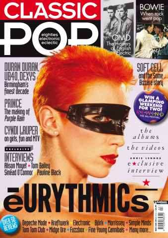 Classic Pop issue Classic Pop Eurythmics