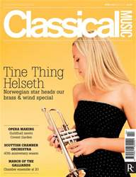 Classical Music issue April 2013