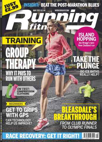 Running Fitness issue Race Recovery May 2013