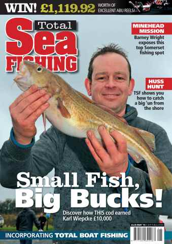 Total Sea Fishing issue May 2013