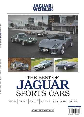 Jaguar Sports Car Series issue the Best of Jaguar Sports Cars