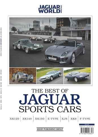 Jaguar Sports Car Series issue the Best of Jaguar Sports Cars