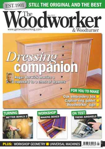 The Woodworker Magazine issue May 2013