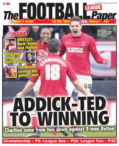 The Football League Paper issue 31st March 2013