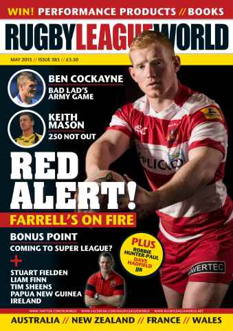 Rugby League World issue 385