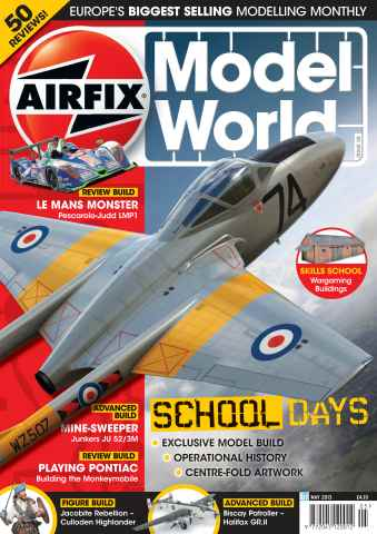 Airfix Model World issue May 2013