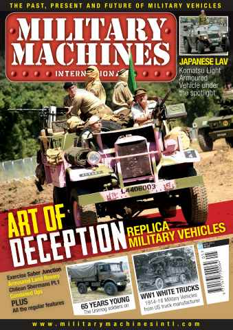 Military Machines International issue May 2013