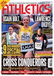 Athletics Weekly issue AW April 4 2013