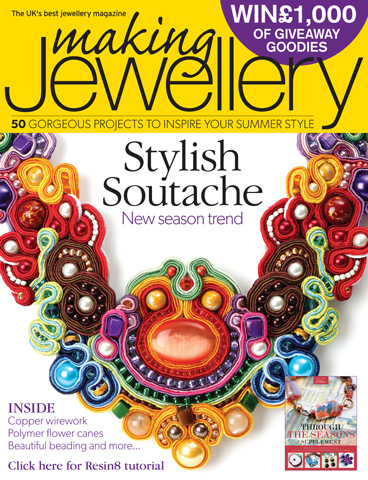 Making Jewellery issue May 2013