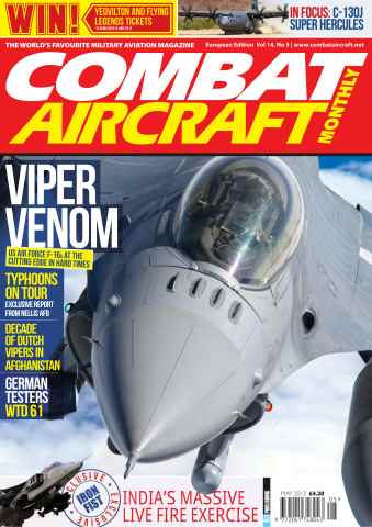 Combat Aircraft issue Vol 14 No 5