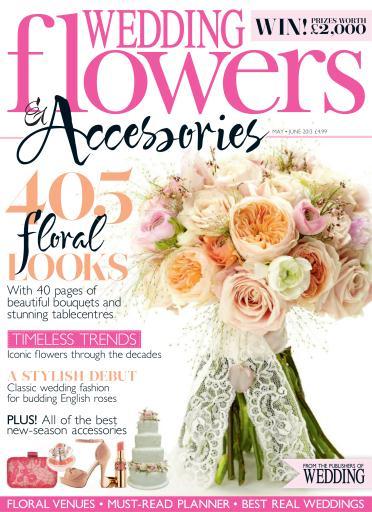 Wedding Flowers Magazine Subscription : Wedding flowers magazine may june subscriptions