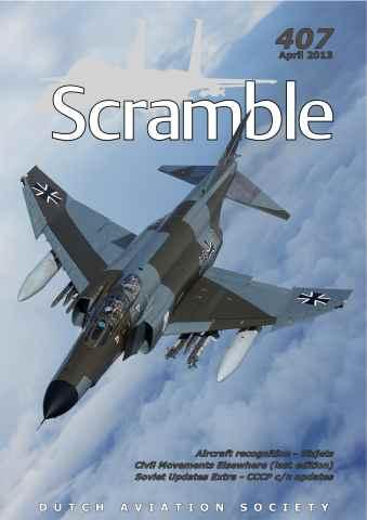 Scramble Magazine issue 407 - April 2013