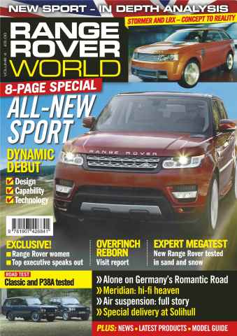 Range Rover World issue Range Rover World Issue 4