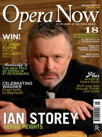 Opera Now issue May 2013