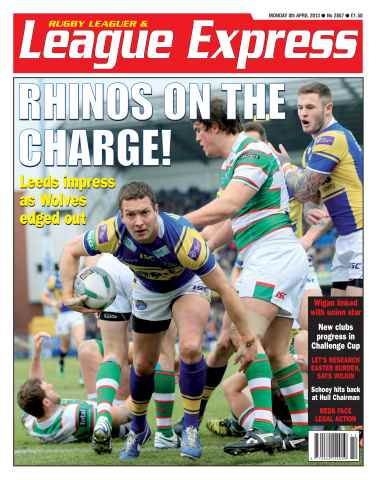 League Express issue 2857