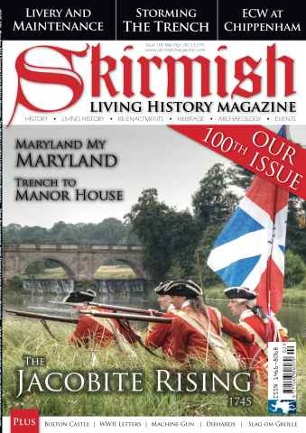 Skirmish Living History issue Issue 100