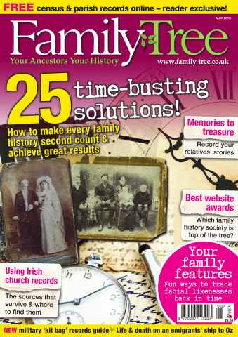 Family Tree issue Family Tree May 2013