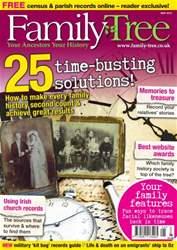 Family Tree issue Family Tree May 2013