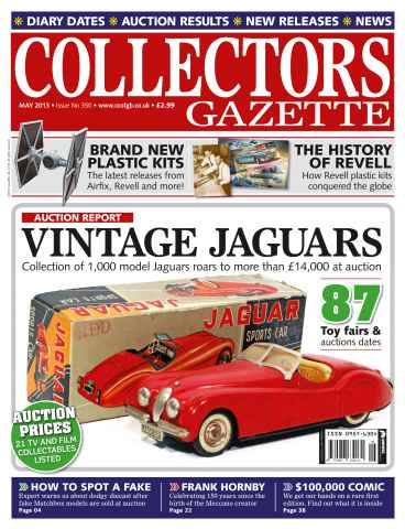 Collectors Gazette issue May 2013