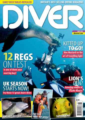 DIVER issue MAY 2013