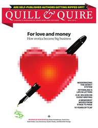 Quill & Quire issue May 2013