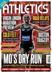 Athletics Weekly issue AW April 18 2013